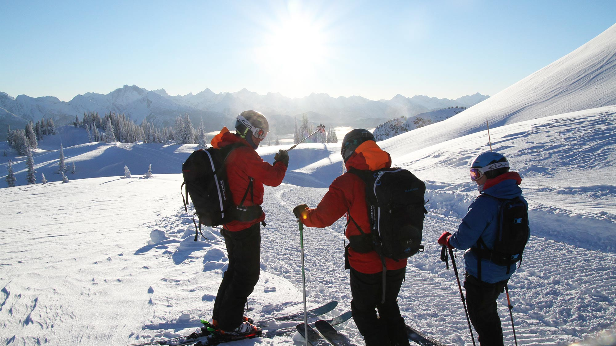 What is a ski package?